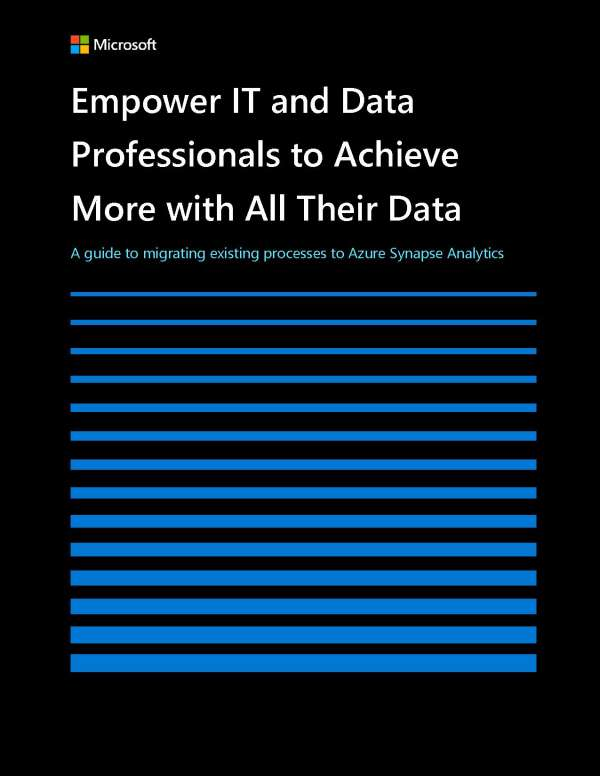 "Featured image for ""Empower IT and data professionals to achieve more with all their data """
